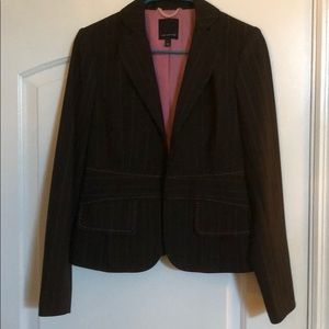 The Limited, light pink striped, Business Blazer